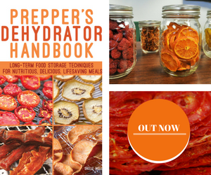 Prepper's Dehydrator Handbook is packed with everything you need to know about this powerful method for creating shelf-stable foods. Instead of relying on preservative-filled packaged food, fill your pantry with the tastier, healthy alternative - dehydrated food.