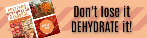 Purchase your copy of Prepper's Dehydrator Handbook