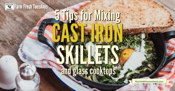 Cast Iron Skillet With Eggs Inside And The Text Overlay 5 Tips For Mixing