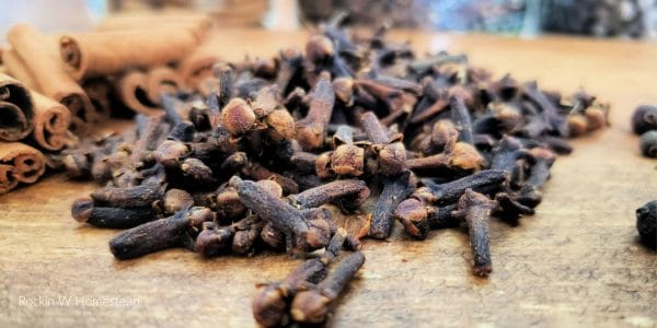 Cloves are an amazing fall spice that work as a natural antiseptic and can even provide mild numbing
