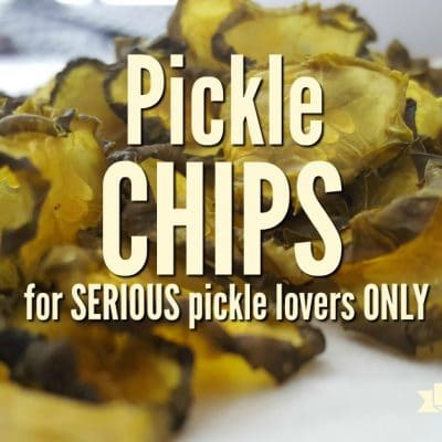 Dehydrated Pickles: For Serious Pickle Lovers ONLY
