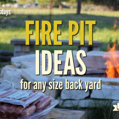 Try one of these backyard fire pit ideas for any size yard. A fire pit can bring warmth on cold nights, give you a place to cook on hot days and be the centerpiece of your family gatherings.