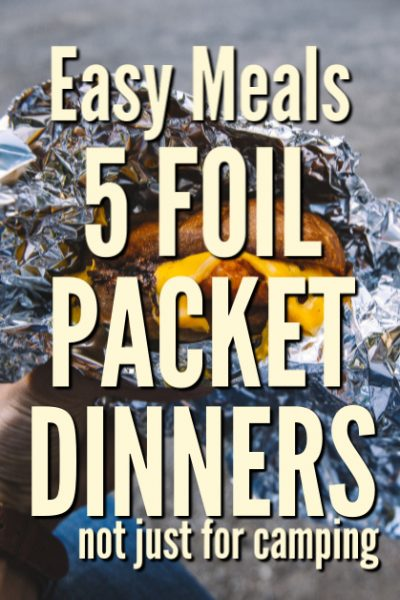 Foil packet dinners are not just for camping. So each, kids can put them together. Add this collection of recipes to your list of quick dinner ideas.