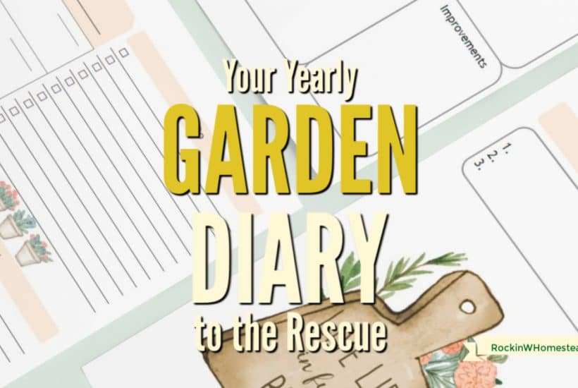 Your garden is a place of wonder. Your yearly garden diary captures those wonderful things so you can remember them year after year.