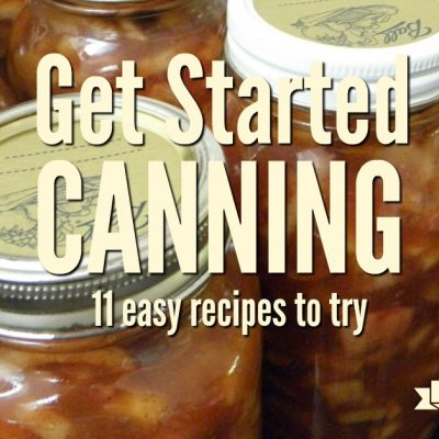 Apple pie filling. At first glance canning sounds like one of the scariest ways to preserve food, but honestly, canning isn't as scary as it sounds. Get started with canning and filling your pantry with these great projects.