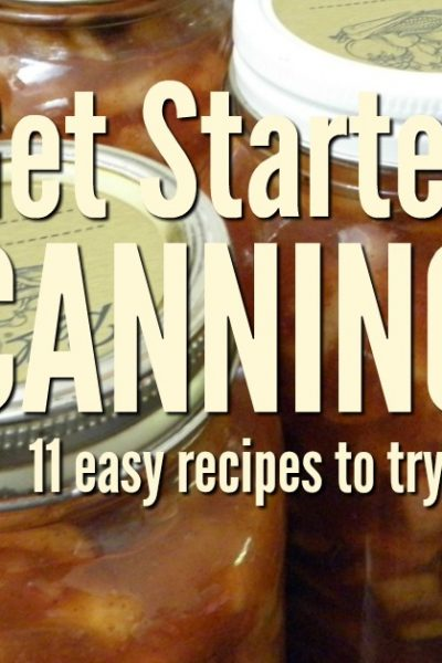 Apple pie filling. Atfirst glancecanning sounds like one of the scariest ways to preserve food, but honestly, canning isn't as scary as it sounds. Get started with canning and filling yourpantry with these great projects.