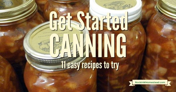 Apple pie filling. At first glance, canning sounds like one of the scariest ways to preserve food, but honestly, canning isn't as scary as it sounds. Get started with canning and filling your pantry with these great projects.