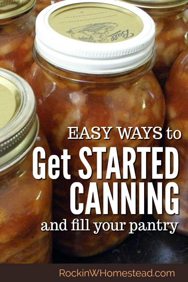 At first glance, canning sounds like one of the scariest ways to preserve food, but honestly, canning isn't as scary as it sounds. Get started with canning and filling your pantry with these great projects.