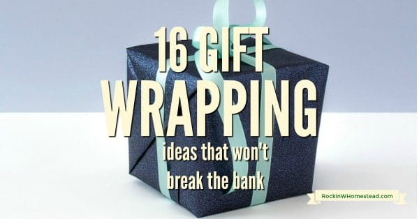 If you are taking the time to make homemade gifts, why not make them look prettier surrounded in homemade wrapping. Get 16 gift wrapping ideas that won't break the bank.