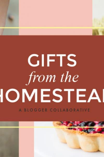 Recently, I got together with my blogging friends and we created a collection of articles with easy homemade gifts from the homestead for any occasion.