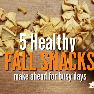 5 Healthy Fall Snacks for Busy Days