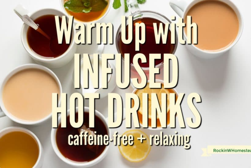 During the colder seasons, there's nothing more relaxing than reaching for one of these nice warm healthy infused hot drinks. They will help to settle your nerves and get you ready for the day.