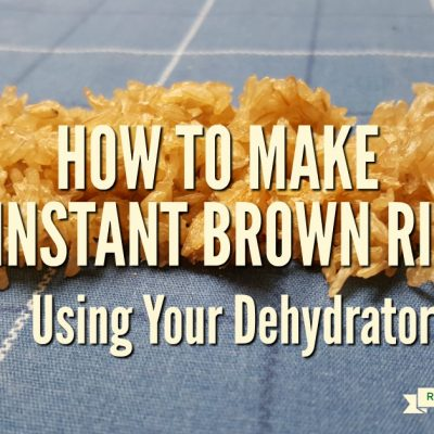 How to Make Instant Brown Rice at Home