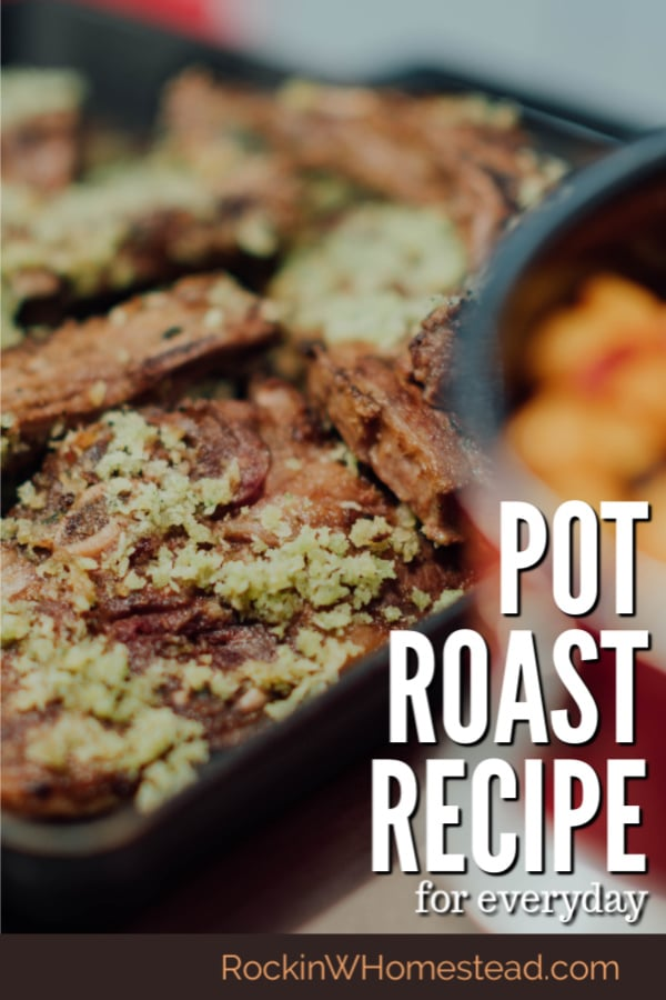 Looking for an easy meal? Try this classic recipe. Pot roast dinner is a traditional meal that is easy to fix and can be cooked in several ways.