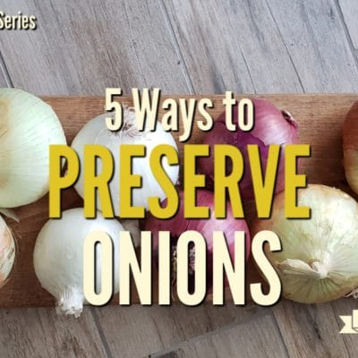 5 Ways to Preserve Onions