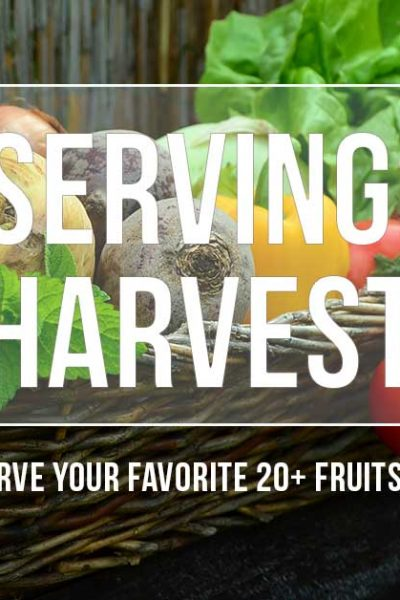 Preserving the Harvest - Tips for eating local and seasonal year-round when you use old fashioned food preservation methods.