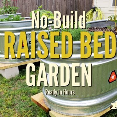 No Build Raised Bed Garden