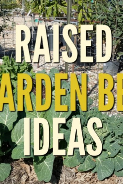 Are you in the planning stages for building raised garden beds?