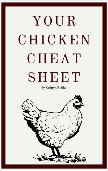 Your chicken cheat sheet