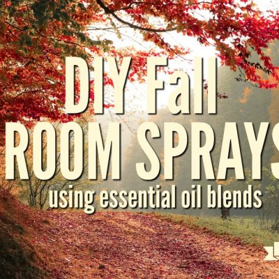 DIY Fall Room Sprays Using Essential Oils