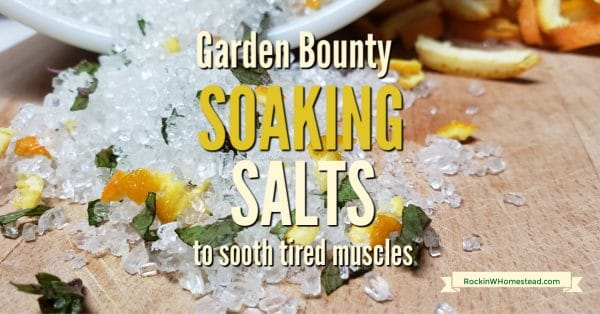 Taking a bath with soaking salts is terrific for your skin and a relaxing way to end to a stressful day. Make your own DIY bath salts with these recipes.