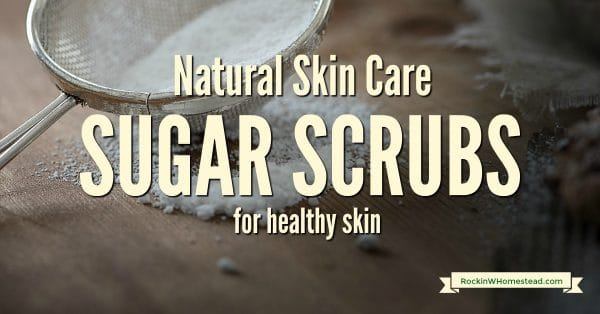 Sugar is such a great medium for exfoliating skin and can be safely used on your face and body in the form of sugar scrubs.