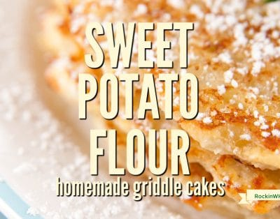 Whether you call them pancakes, hotcakes, griddlecake, or flapjacks, adding sweet potato flour to this Sunday morning treat takes the basic recipe and turns it into spectacular.