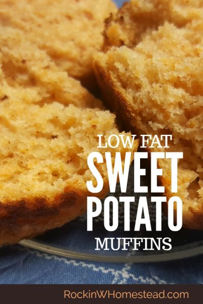 Home baked sweet potato muffins are a healthy snack. If you're looking for a tasty, low-fat alternative to store bought muffins, this is it | Rockin W Homestead