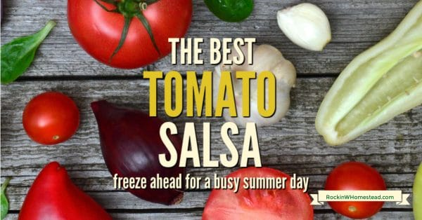 this great recipe is also open to interpretation, because the best tomato salsa recipe is one that you create yourself.