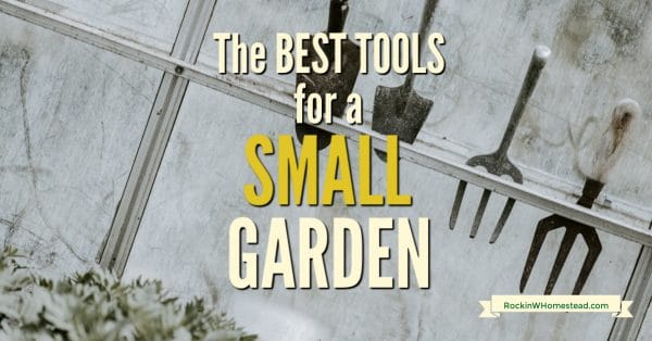 The right garden hand tool can make all the difference when working in your small garden.  These are my suggestions and a giveaway.