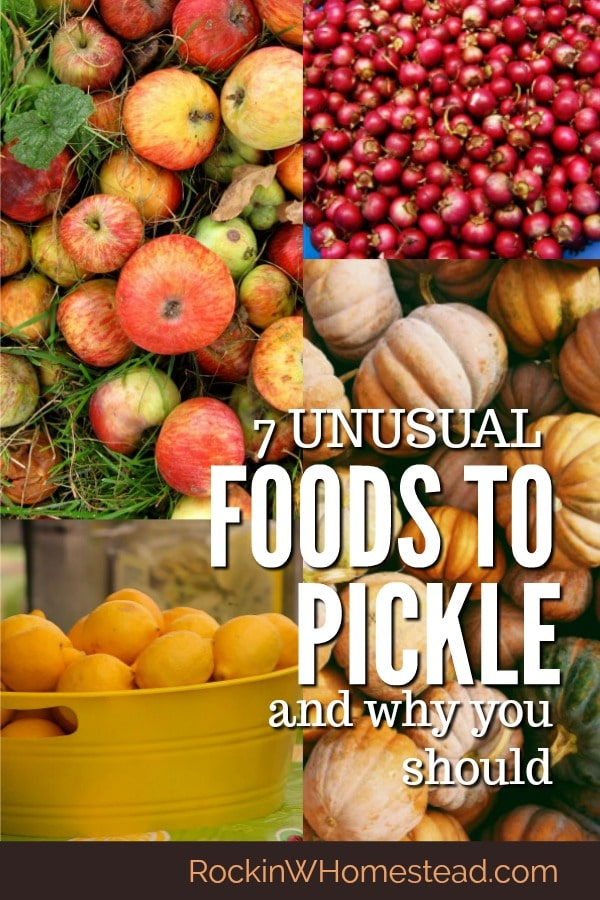 Pickling is one of the oldest forms of food preserving. Move beyond the cucumber and try one of these seven unusual foods to pickle. You'll be glad you did.